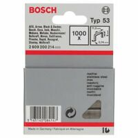 Bosch 2609200214 Fine Staples Type 53 11.4 x 0.74 x 6 mm