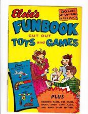Elsie's Funbook   1950    Borden's  Giveaway Comic
