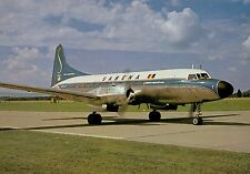 B4675mdt Transport Sabena Airlines Convair 440 Aircraft postcard