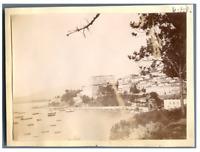 Algérie, Bône  Vintage print.  Tirage citrate  7x10  Circa 1900