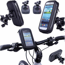 360 ° XXL impermeabile bici bicicletta Mount Holder Case Cover per cellulari