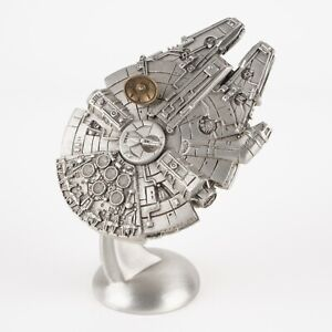 Millennium Falcon   Vintage 1990s Star Wars Figure by Rawcliffe Pewter