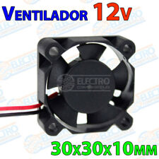 Ventilador 3010 12v Fan 30x30x10 impresora 3D cooler 30mm 10mm brushless