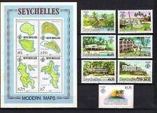 Seychelles, MNH, U, CTO, 2 scans