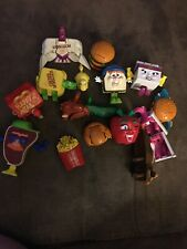 VINTAGE MCDONALDS HAPPY MEAL FOOD CHANGEABLES LOT OF 14