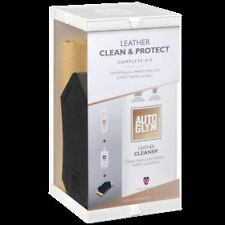 Autoglym Car Care Leather Clean And Protect Complete Kit Geniune Product