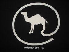 Vintage 90s CAMEL CIGARETTES T SHIRT Where It's At JOE CAMEL 1997 RJ REYNOLDS XL