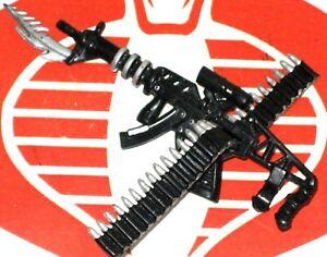 SPAWN Weapon CHAPEL Machine Gun w Ammo Belt McFarlane 1995 Original Accessory