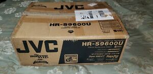 (Tested) JVC HR-S9600U Super VHS S-VHS ET Professional VCR w/ Manual and Remote