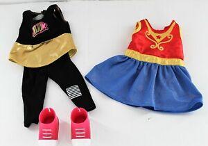 "My Life 18"" Doll Jojo Siwa Clothes Pink Shoes Wonder Women Costume American Girl"