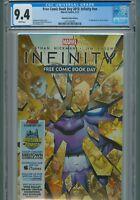 Infinity FCBD 2013 CGC 9.4 NN 1st Corvus Glaive Black Order Thanos Avengers War