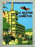 Carte Postale Tintin PASTICHE - Le Mystère de la Corne d'OR.  Boîte aux Images