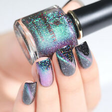 BORN PRETTY Holographic Magnetic Cat Eye Nail Polish Holo Black Base Needed