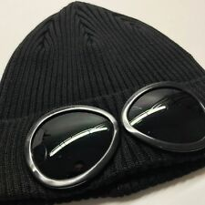 Superme Company Goggle Mens Beanie Knitted Woolly Winter Hats Cap Black