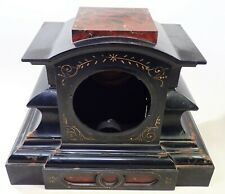 Antique Cast Iron Mantel Shelf Clock Case Parts Repair