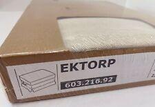 Ikea EKTORP Footstool / Ottoman Slipcover COVER Lofallet Beige 603.216.92 - NEW