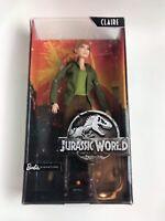 Barbie Signature Jurassic World Barbie Claire Rare Collectors doll **BRAND NEW**