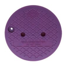 """Dura Round Sprinkler Valve Box Replacement Lids Size 10"""" Color Pink"""