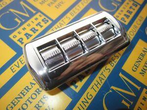 1954-1957 Buick & Oldsmobile 4 Button Power Window Switch Assembly w/ Bezel