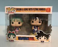 Funko Pop Animation Dragonball Bulma & Goku With Flying Nimbus Exclusive
