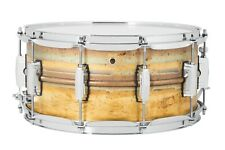 LUDWIG 6.5 x 14 Supraphonic LB464R Raw Brass Snare Drum - NEW