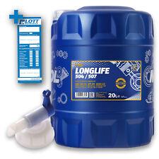 20L Mannol Longlife Öl O.E.M. 5W-30 Motoröl VW 504.00 507.00 BMW LL-04 + Hahn