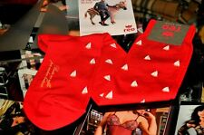 CALZE LUNGHE UOMO RED SOCKS MAN COTTON SOCKEN CHAUSSETTES ROSSO TAGLIA 40 - 45