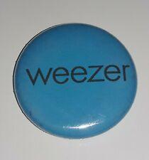 """Weezer 1"""" Button Blue Album Vintage 2001"""