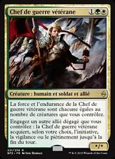 MTG Magic BFZ FOIL - Veteran Warleader/Chef de guerre vétérane, French/VF