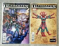 The Ultimates #1 & 2 SET 1st Galactus as Lifebringer | Marvel 2015 - VF+