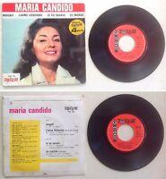 Maria Candido Disque Super 45T vinyl 4 titres Magali vintage