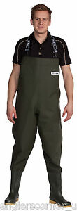 Ocean Heavy Chest Waders 700g Deluxe Non Studded & Studded Fishing Chestwaders