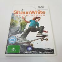 SHAUN WHITE Skateboarding (Nintendo Wii) PAL Video Game - Complete