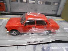 FIAT 125P 125 P Taxi rot red Limousine Atlas Altaya S-Preis 1:43