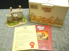 Lilliput Lane Ploughman's Cottage Sp Ed Sp Event #3420 Nib & Deeds 1992 Signed