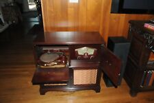Mid Century Zenith Radio Record Player Combo 8H20Z with Cobramatic Phonograph