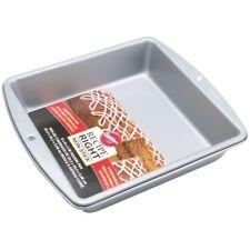 "Wilton 8 "" Recipe Right SQUARE Baking Tin Cake Cup Cakes Sponges Non Stick Pan"