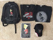 E3 2017 Los Angeles Exclusive Backpack Hat Sign T-Shirt Medium Exclusive Package