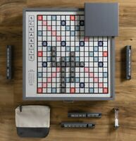 Winning Solutions Scrabble Deluxe Designer Edition Board Game NEW