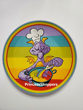 """2020 Epcot Food & Wine Festival Disney Parks Figment Rainbow Cooking Plate 7"""""""
