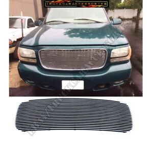 FOR 98~00 GMC YUKON DENALI 1998 1999 2000 BILLET GRILLE INSERT 1pc Replacement