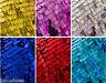 9mm Paillettes Tessuto stoffa,1 way elastico /130cm ampiezza/Glitter rosa rosso