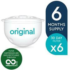 6 x Aqua Optima 30-Day Water Jug Replacement Refill Filters - 6 Months Supply