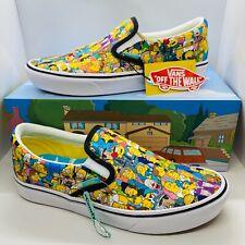 Vans The Simpsons X Springfield Comfycush Slip-On Shoes Men's Women's Ships fast