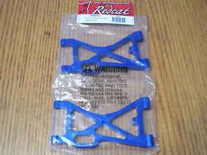 050001 Redcat Blue Aluminum Front Lower Suspension Arms Rampage MT TT Dunerunner