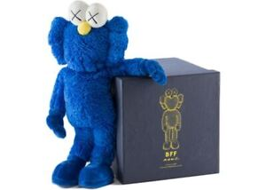 "KAWS BFF 20"" Blue Plush Original 100% Authentic Limited Ed of 1000"