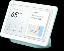 Google Home Nest Hub Smart Display & Home Assistant - Aqua