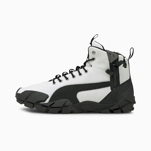 (375519-01) Puma NEMEN x Centaur Mid 'White Black' Sneakers *NEW*
