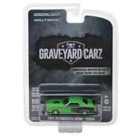 "Hollywood Series: 1971 Plymouth Hemi Cuda ""Graveyard Carz"" 1/64 Scale"