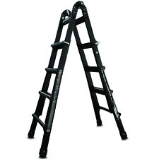Little Giant 17' Reach Folding Extension Ladder Extra Heavy Duty Rating